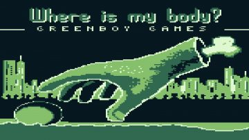 Where is My Body Has Just Funded On Kickstarter To Release As A New Gameboy Game Catridge