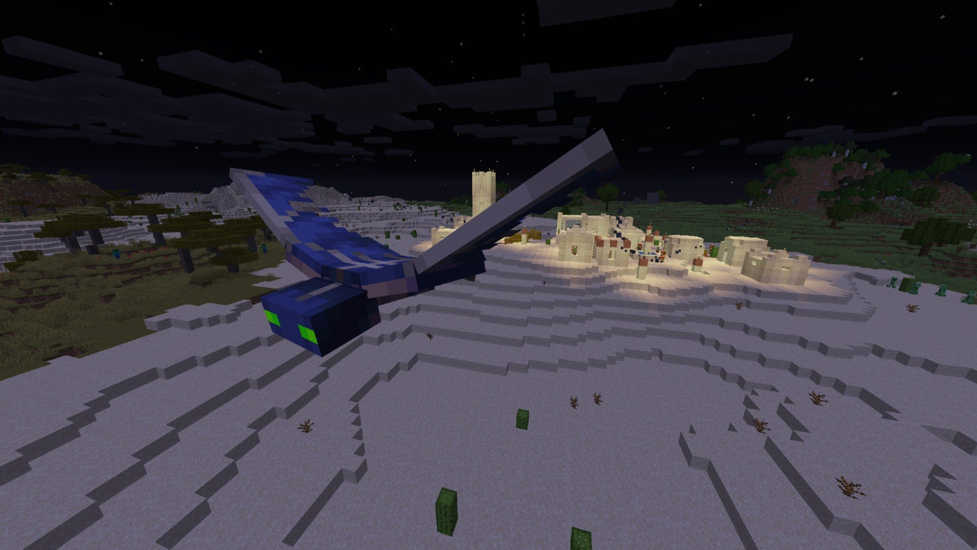 Minecraft Mobs Explored: Phantom, A Mob That Lets Players Know They Haven't Slept In Three Days!