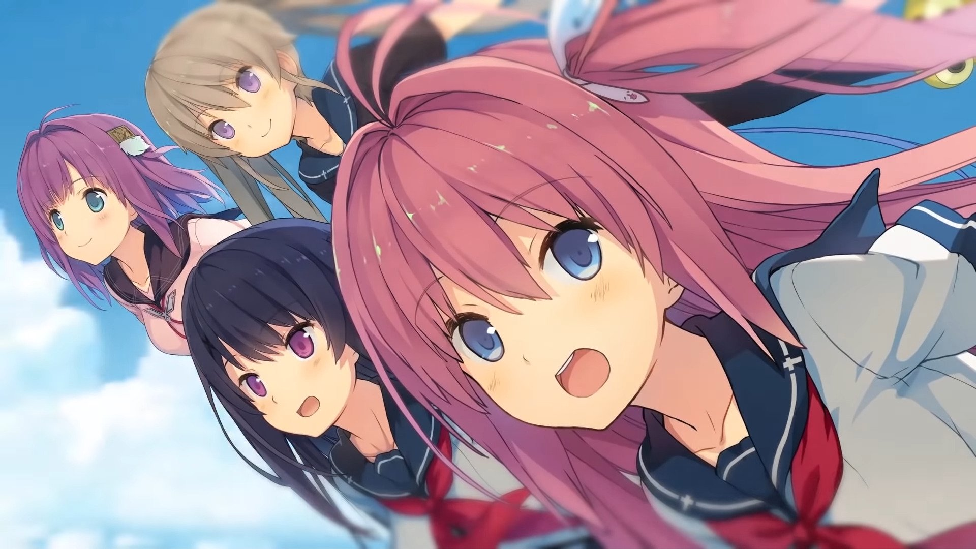 Aokana – Four Rhythms Across The Blue, An Adult Visual Novel Game, Is Released Worldwide This Week On PS4 And Switch