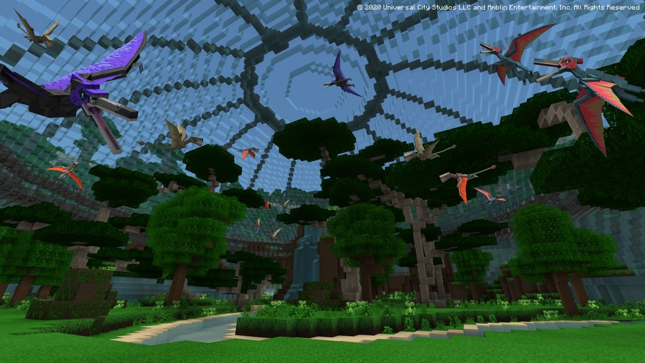 Minecraft's Newest DLC Allows Minecraft Players To Play With Dinosaurs and Even Comes With A Free Blue Hoodie