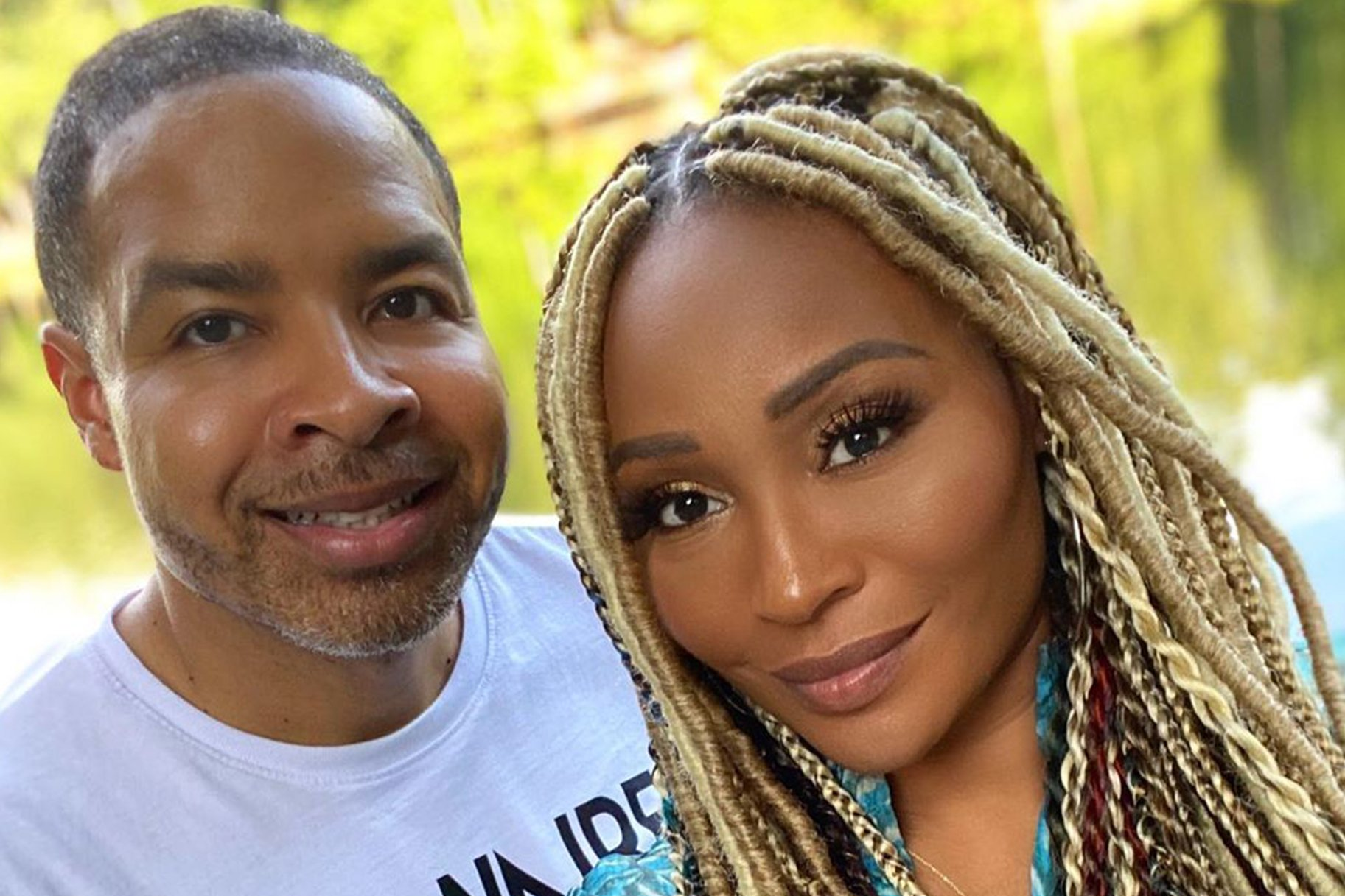 Cynthia Bailey Looks Gorgeous In This White Dress Together With Mike Hill – See The Photos