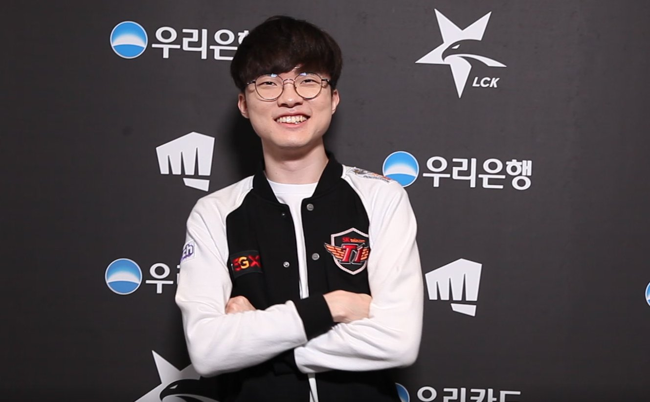 Faker Starred In A SK Telecom 5GX Commercial With The Son Heung-Min, Striker Of Tottenham
