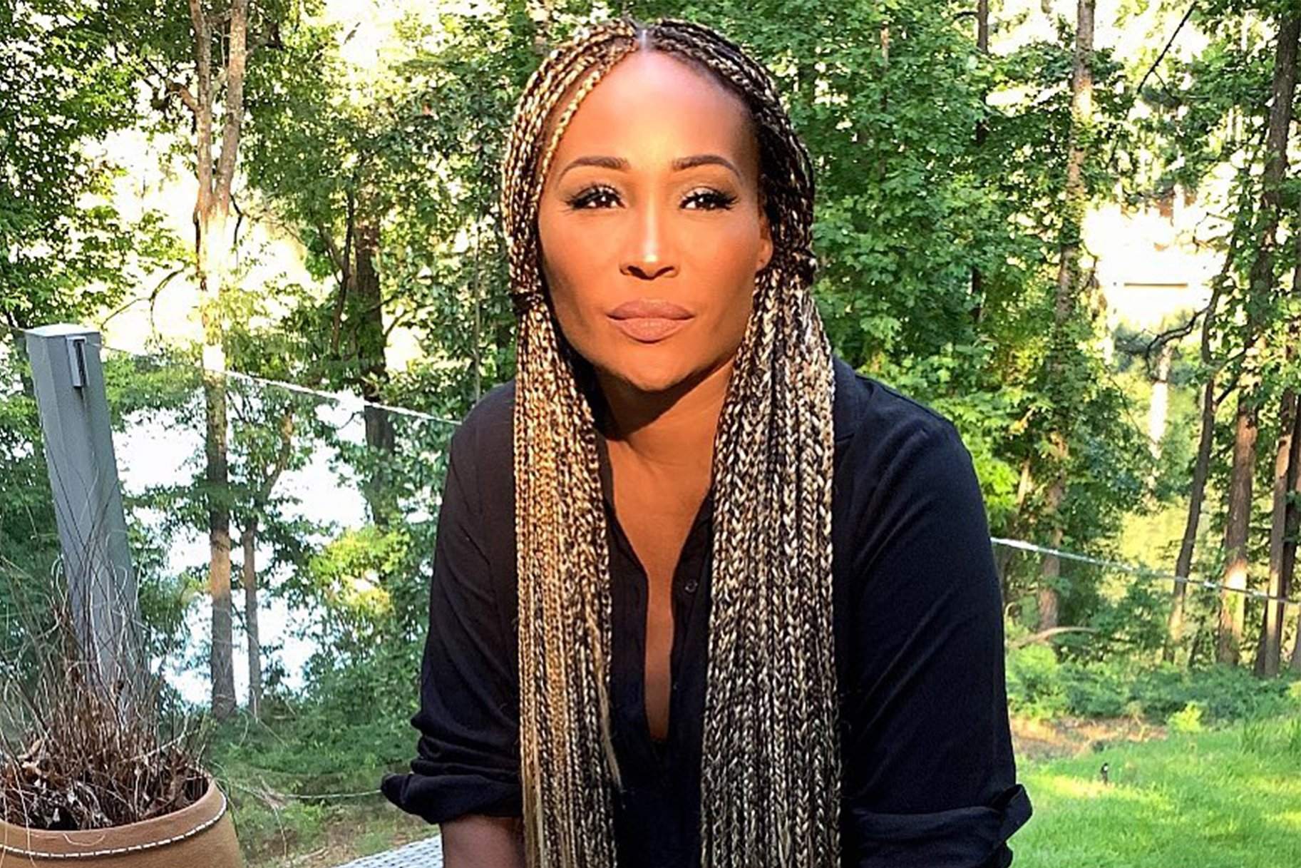 Cynthia Bailey Has The Most Relaxing Time At The Lake