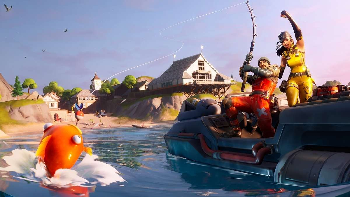 Fortnite Season 4 Players Want To Fish In Peace