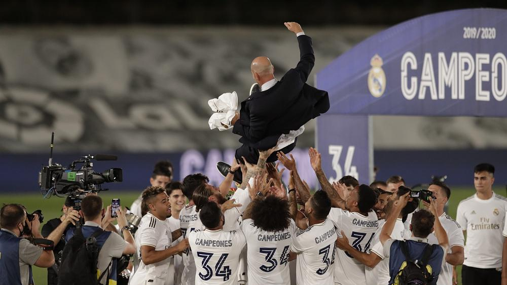 Real Madrid clinch 34th La Liga title with win over Villareal