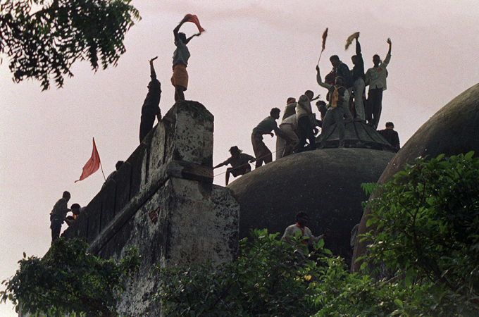 Indian court acquits all accused in Babri mosque demolition case