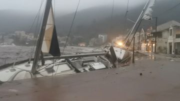 Two dead as Storm Ianos batters Greece