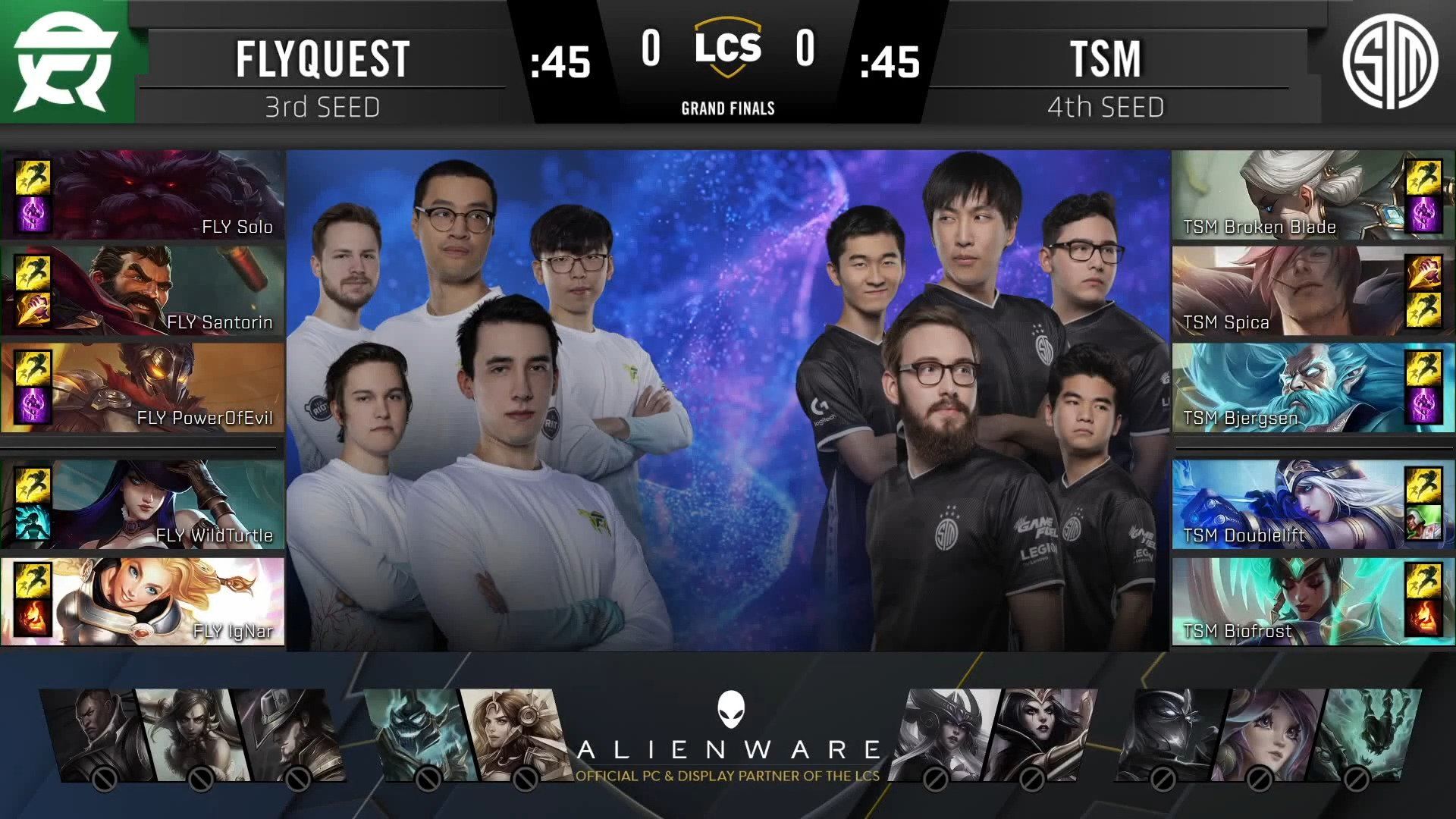 LCS – TSM Back On Top For NA After Defeating FlyQuest In The 2020 Summer Split