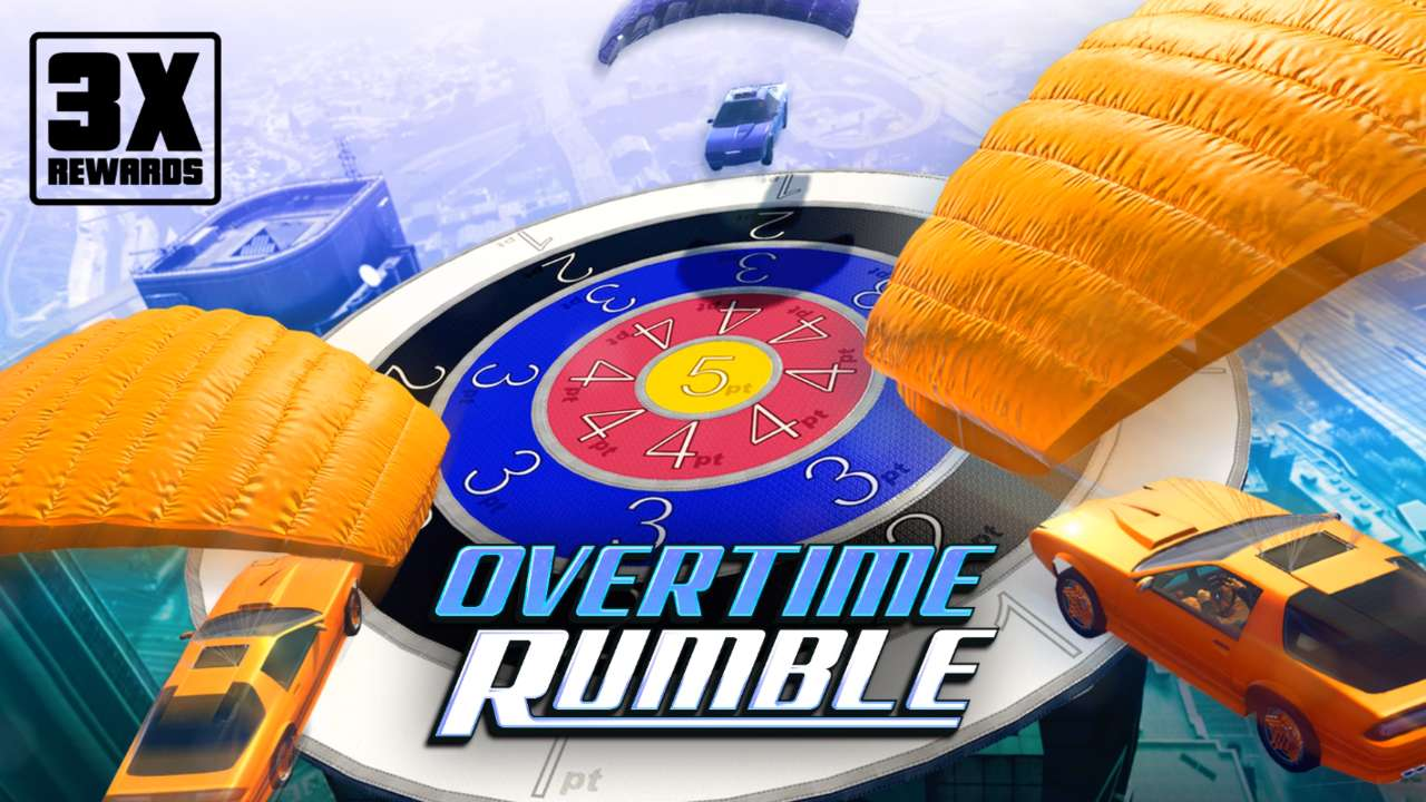 Grand Theft Auto 5 Online Is Offering Triple Overtime Rumble Rewards This Week