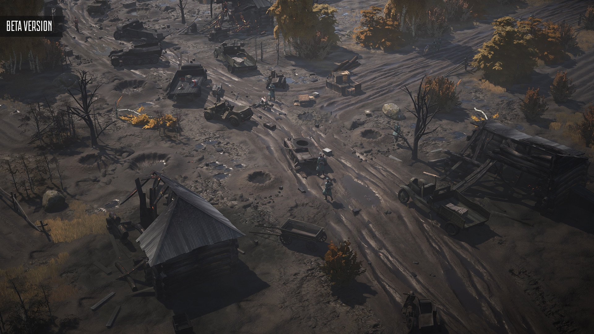 Partisans 1941Is A Unique RTS Strategy Game Headed For Steam Next Month