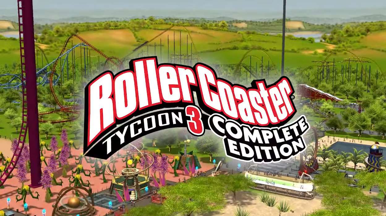 RollerCoaster Tycoon 3: Complete Edition Is A HD Upgrade, And It's Coming To Switch