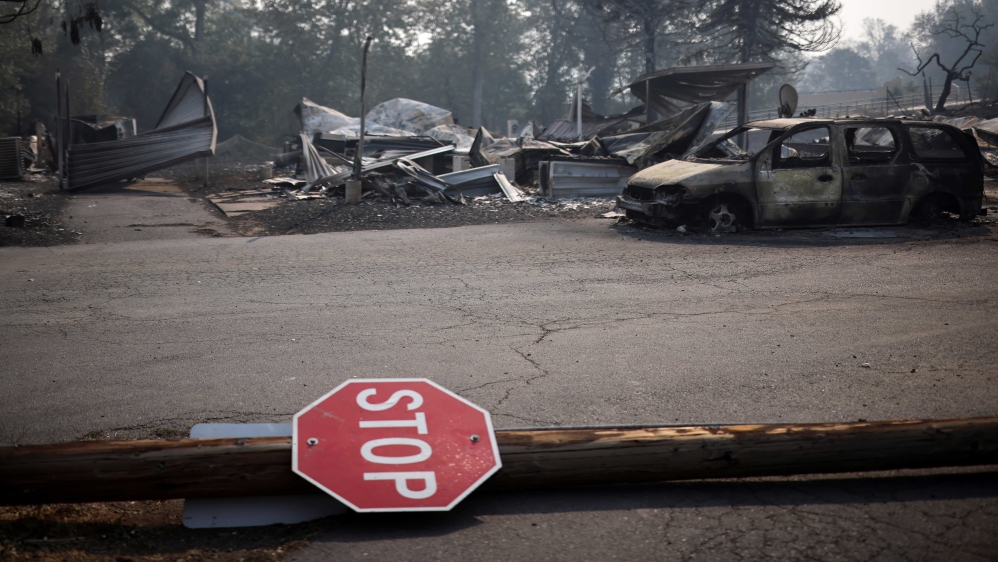 'A huge difference': Volunteers mobilise in Oregon fire aftermath