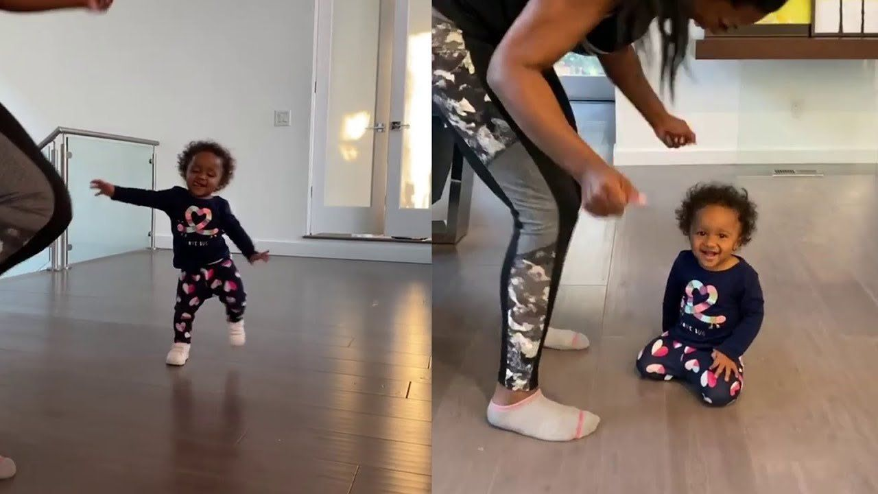 Kenya Moore's Latest Photos With Her Baby Girl, Brooklyn Daly Have Fans Smiling
