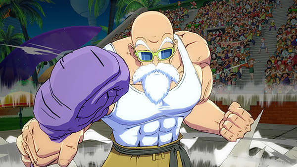 Dragon Ball FighterZ: Watch Master Roshi Absolutely Destroy Goku In DLC Footage