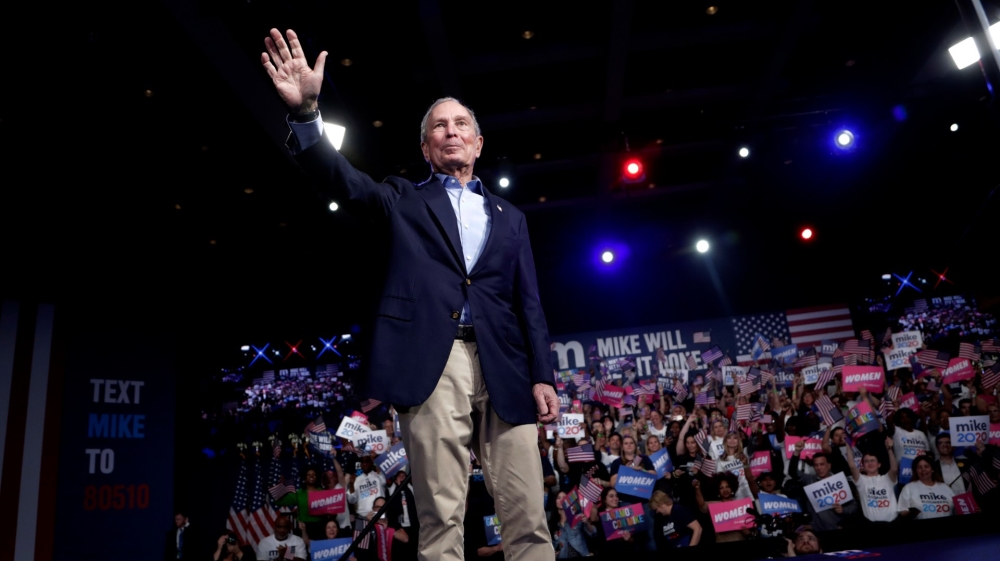 Bloomberg to spend at least $100m to support Biden in Florida