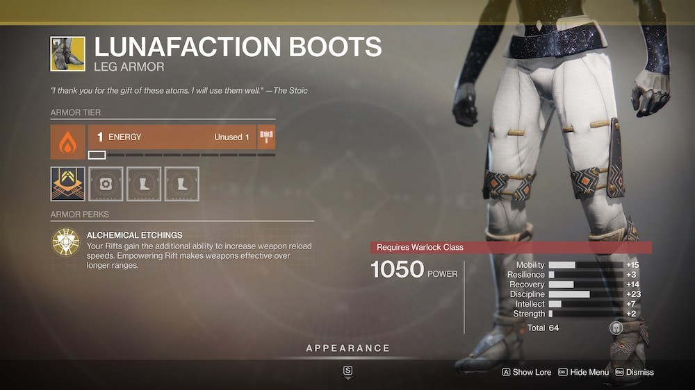 Though they're not an essential Exotic for high-level PvE activities anymore, Lunafaction Boots are still very useful for powering up fireteams.