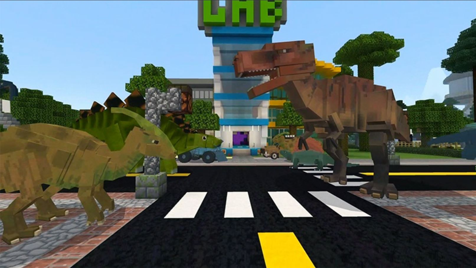 Minecraft Marketplace Explored: Rockett Adventures 1, A Different Way To Experience Dinosaurs In Minecraft