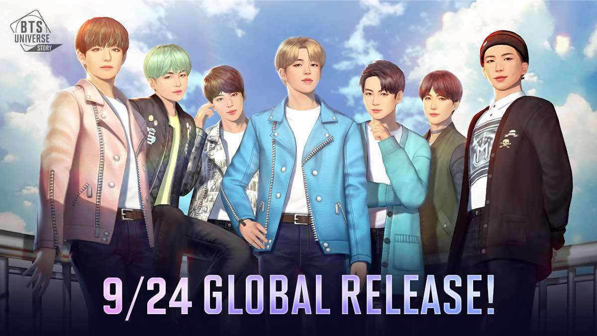 New BTS Mobile Game, BTS Universe Story, Releases In September