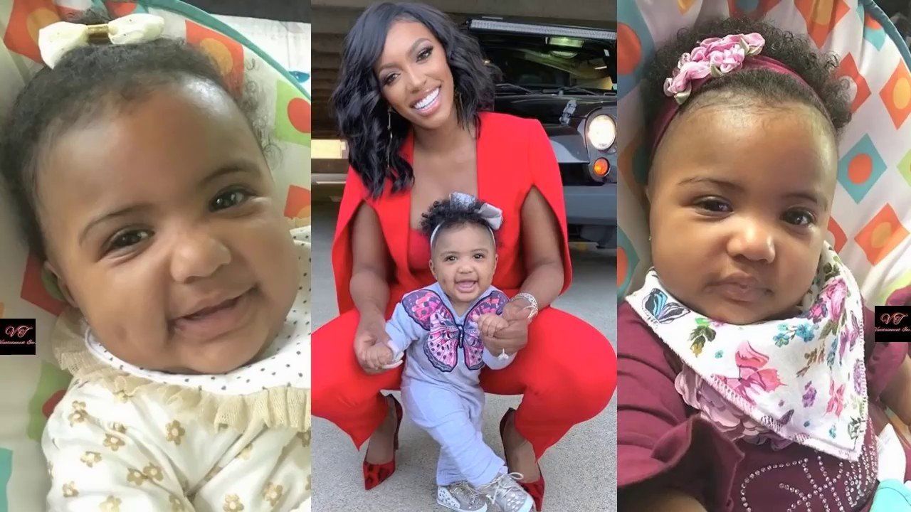 Porsha Williams' Daughter, PJ Kisses Her Mom On Her Own! Check Out The Video