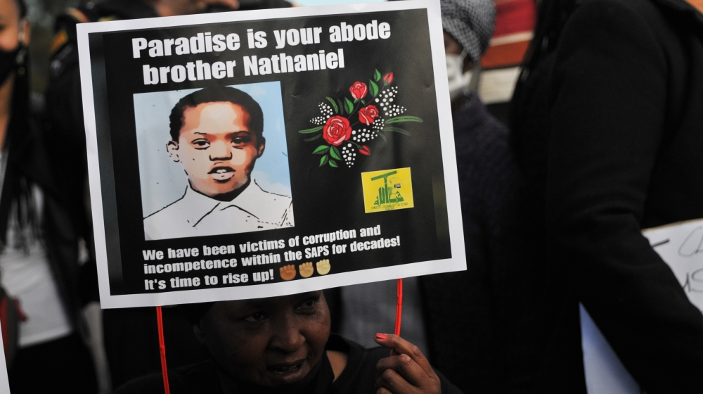 Officers accused of killing South African teen to appear in court