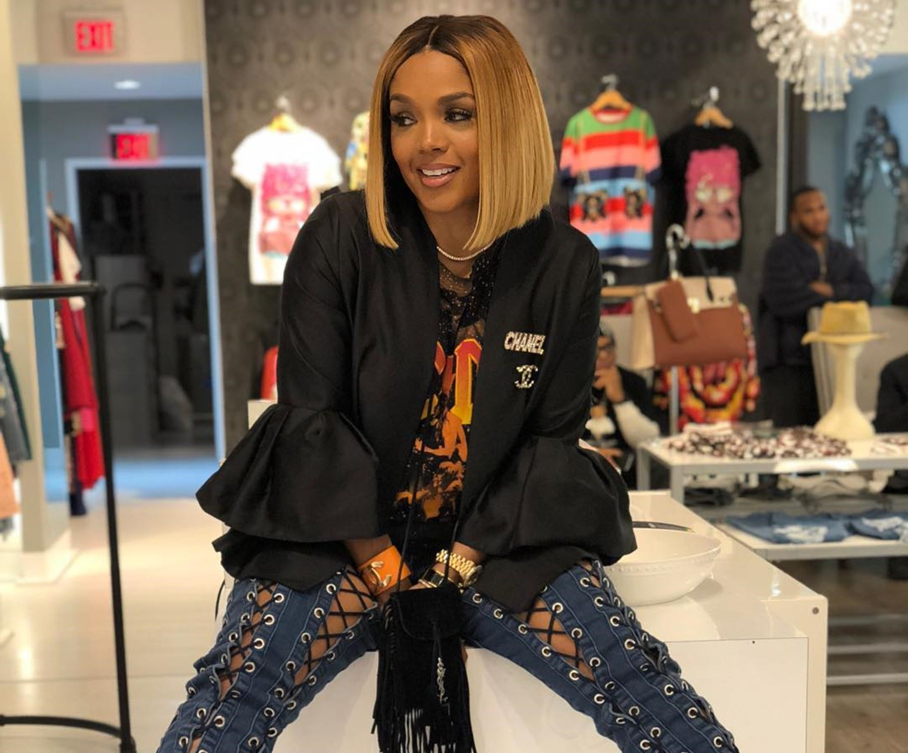 Rasheeda Frost Offers Her Gratitude To Vogue For Including Her In An Impressive Article