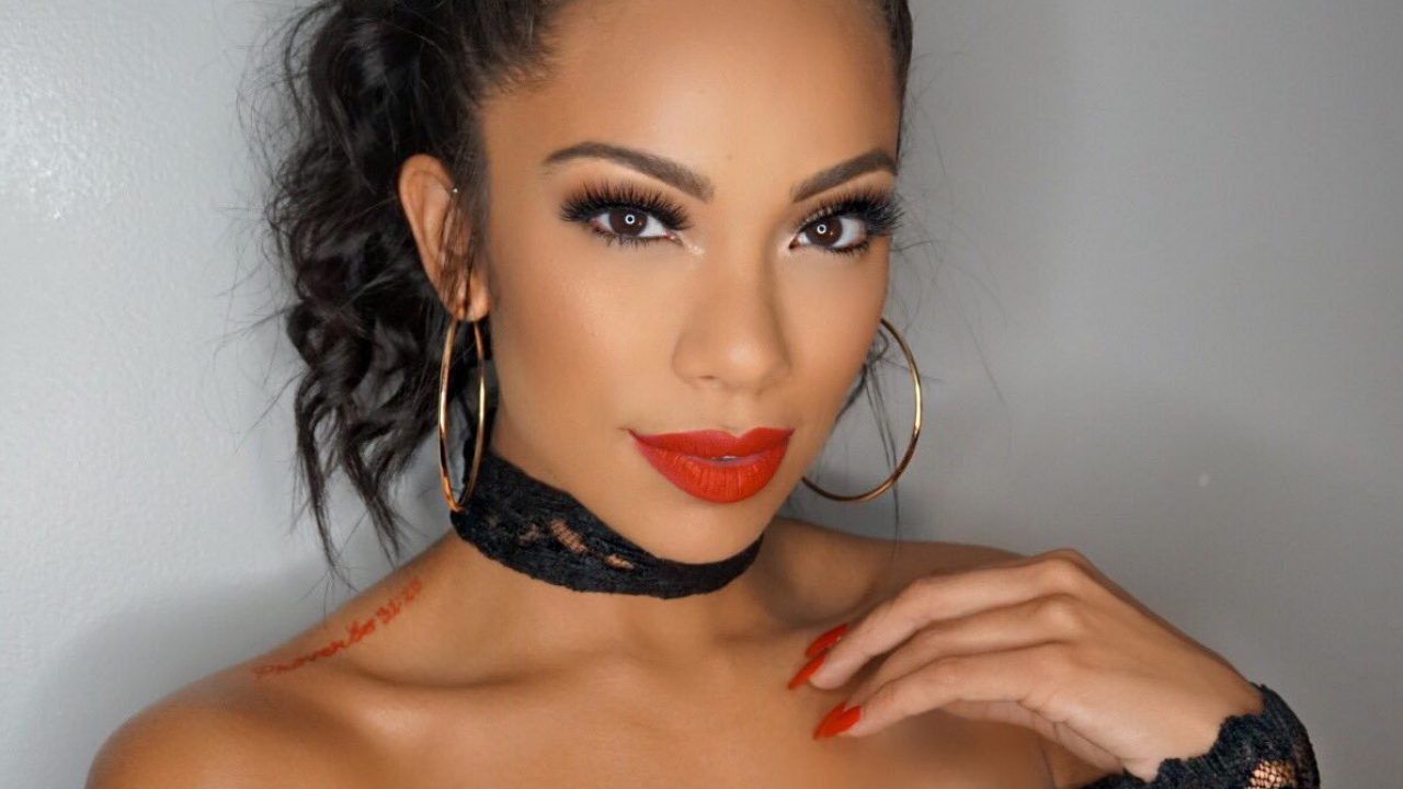 Erica Mena Flaunts Her Bare Face And Fans Are Completely In Love With Her Lips And Eyebrows – See The Clip