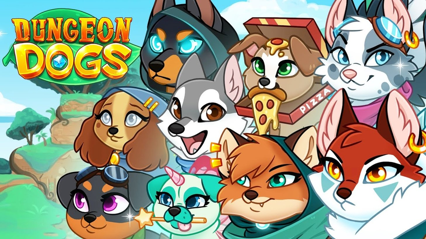 PopCap Studios Celebrates High Ratings And Launch Download Milestones For Dungeon Dogs Mobile Game