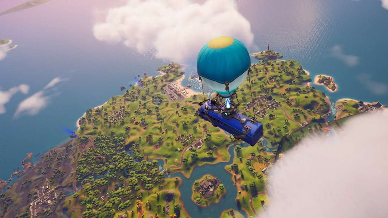 Fortnite Releases On PS5 At Launch, Here's The First Gameplay