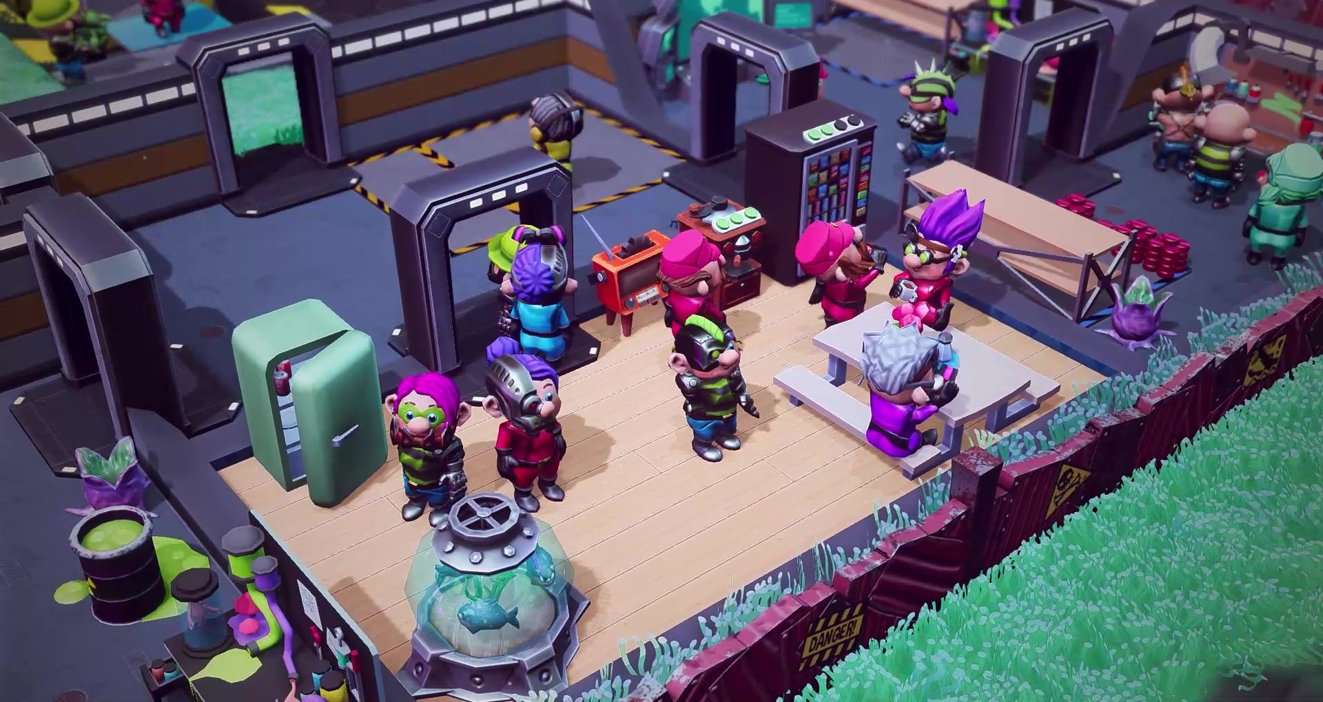 """Little Big Workshop Has Announced Its New """"The Evil"""" DLC Pack"""