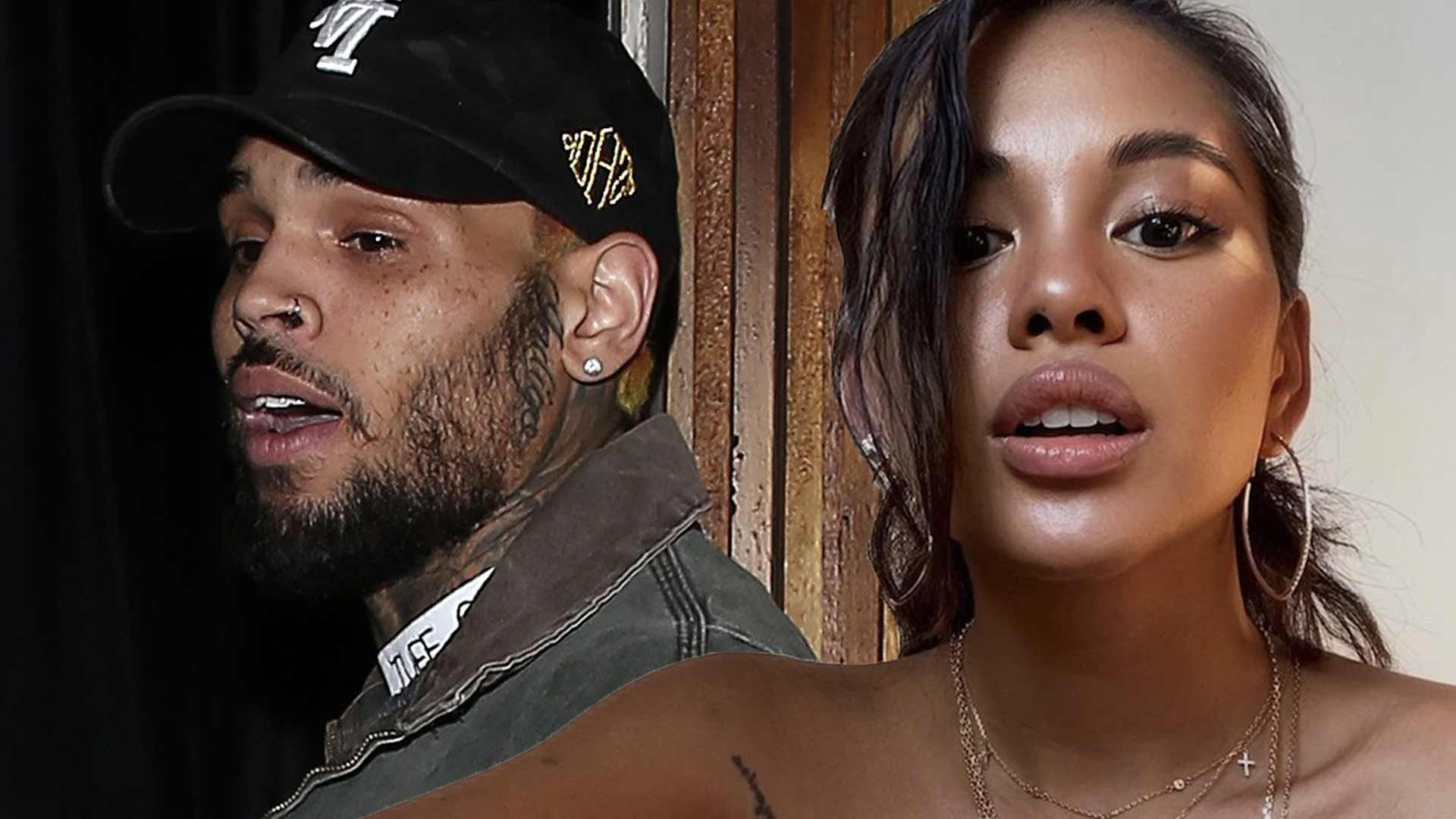 Ammika Harris Shares Hot Chris Brown Pic On Her IG Stories Only Weeks After Unfollowing Him!