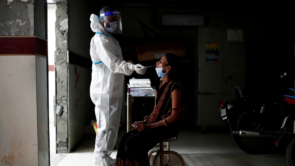 Indian hospitals face oxygen shortage as COVID-19 cases surge
