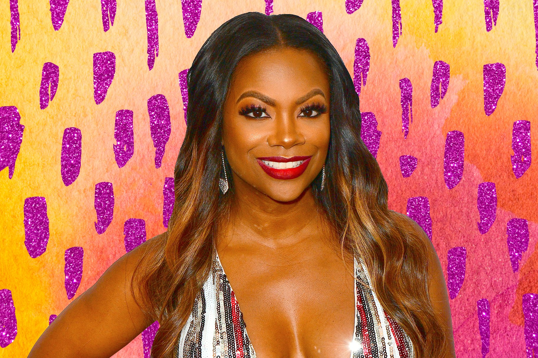 Kandi Burruss Is Showing Off Her Flawless Legs In This Bomb Outfit