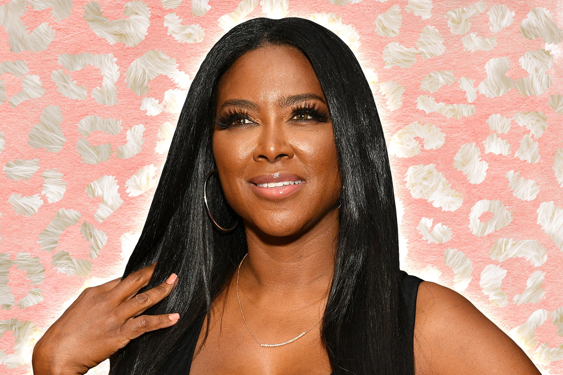 Kenya Moore Has A Leg Up On The Competition – See Her Outfit In This Photo