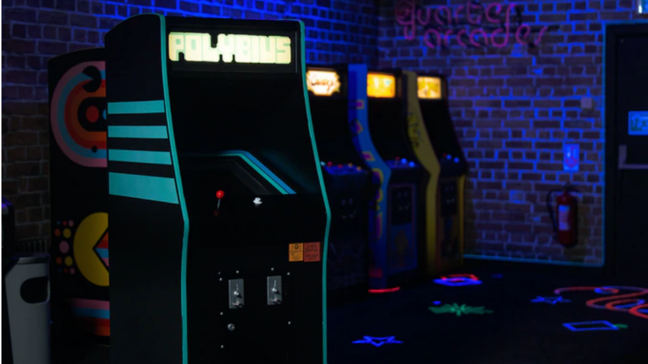 Polybius Mini Arcade Cabinet Celebrates A Game That Doesn't Exist