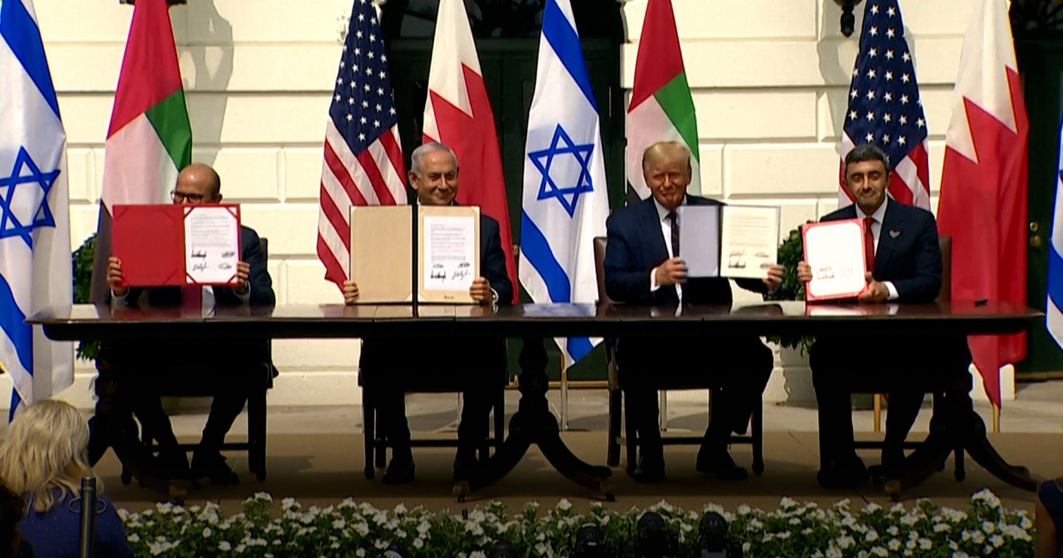 Israel, UAE and Bahrain sign US-brokered normalisation deals