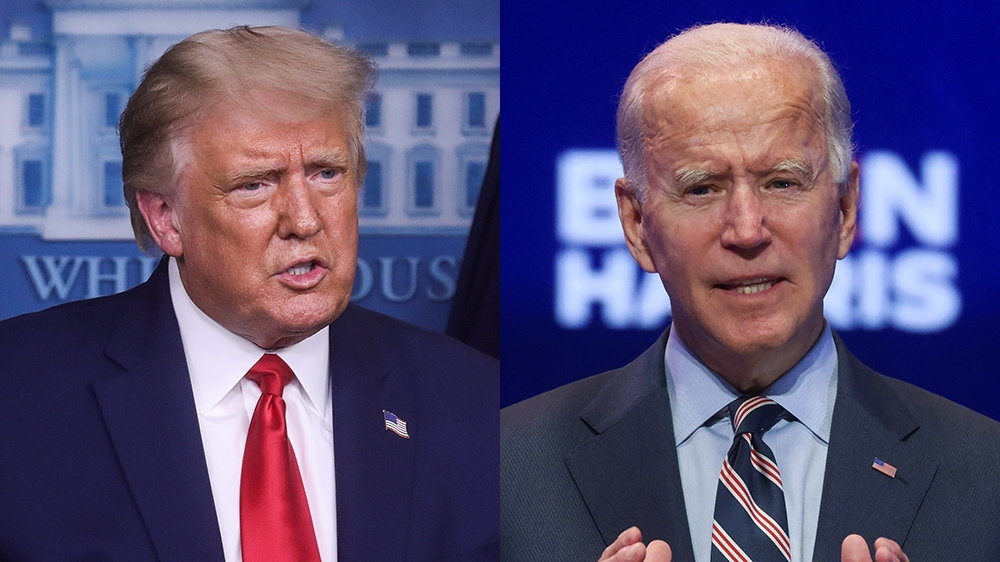 US election live news: Trump and Biden back to the battlegrounds