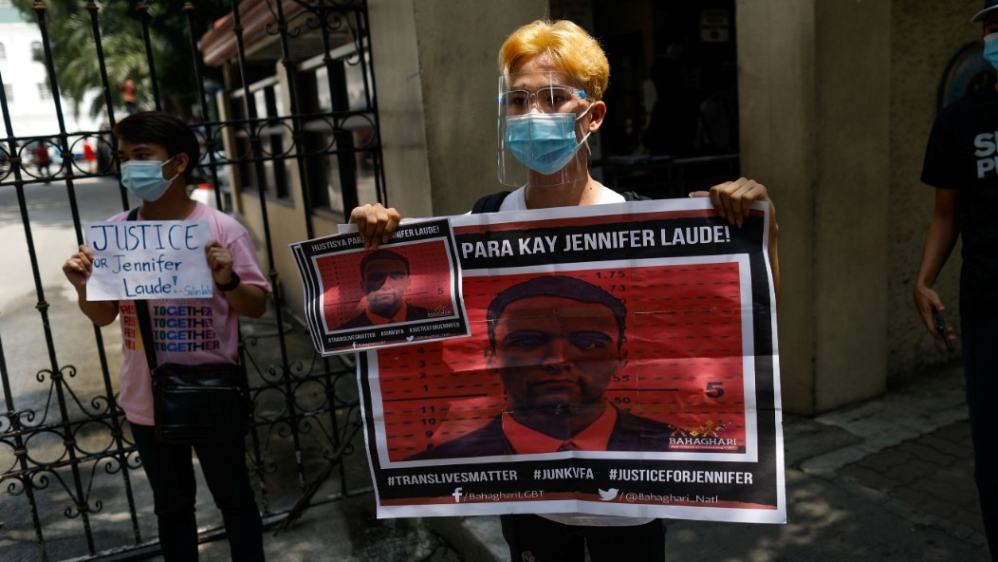 Outrage in the Philippines as Duterte pardons 'killer' US Marine