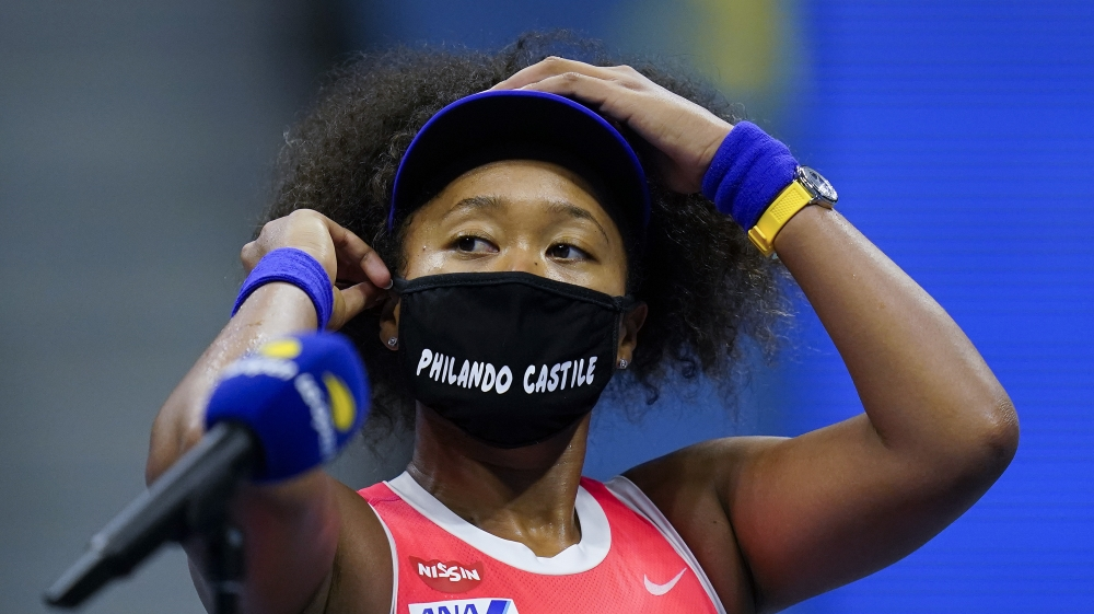In Pictures: The masks of Naomi Osaka at the US Open