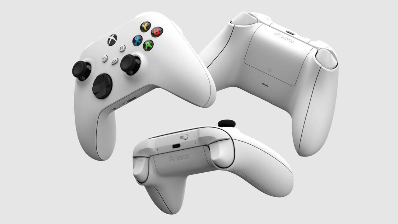 Xbox Shows Off Robot White Controller, Which Comes With Series S