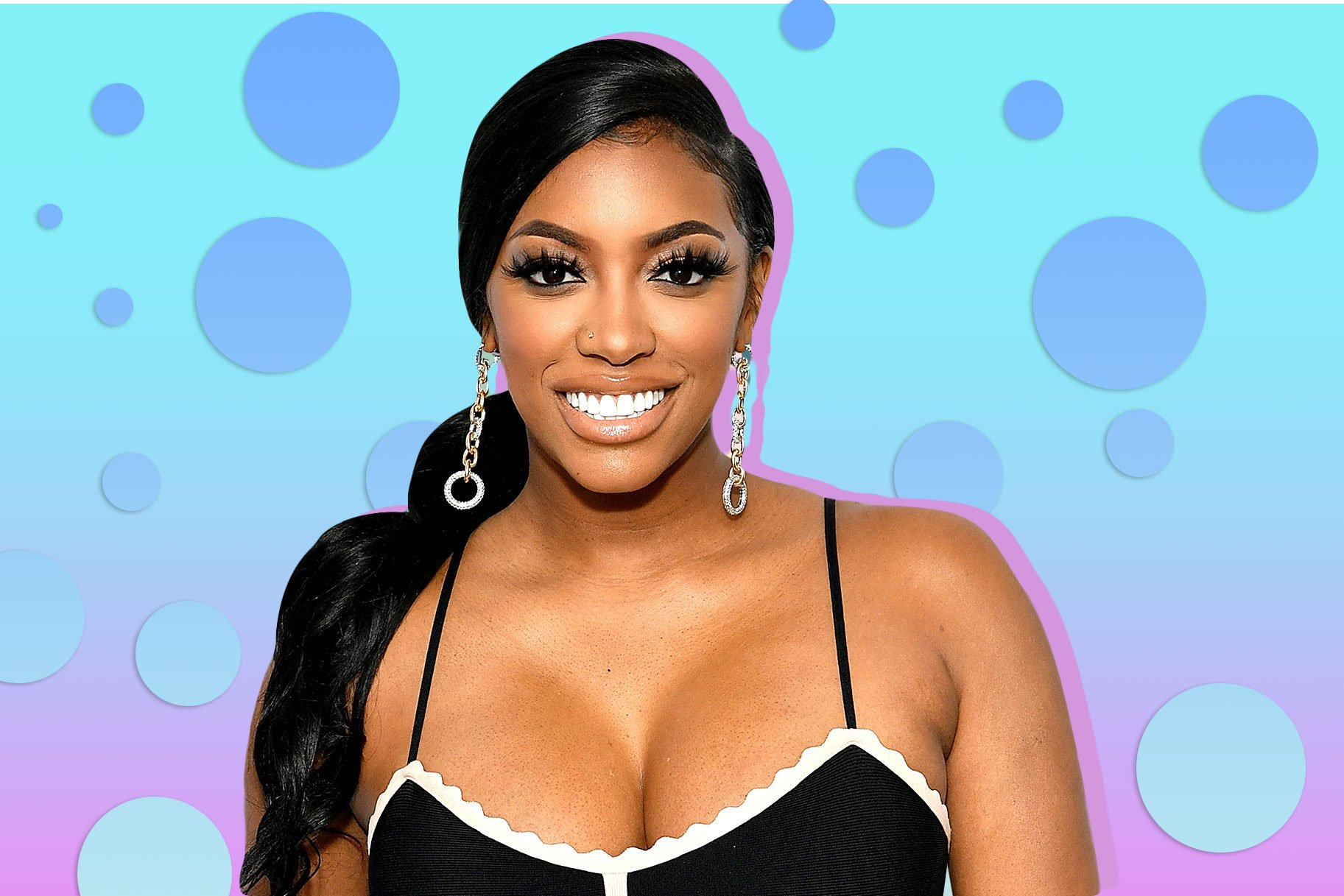 Porsha Williams' Daughter, Pilar Jhena Is Glowing In This Amazing Versace Outfit