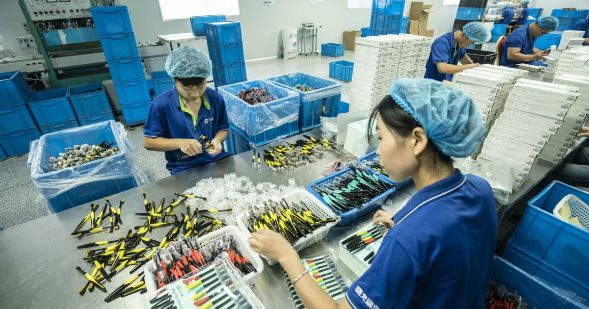 Asian factories have been busy, a plus for the global economy