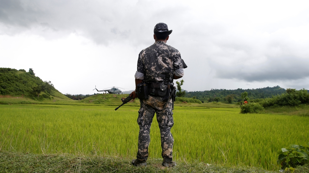 Myanmar soldiers 'in Hague after confessing to killing Rohingya'