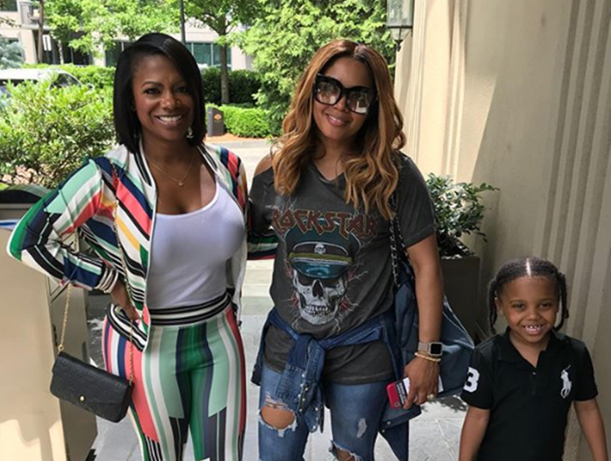 Rasheeda Frost Hangs Out With Her And Kirk's Son, Karter Frost And Fans Are In Awe – See The Video