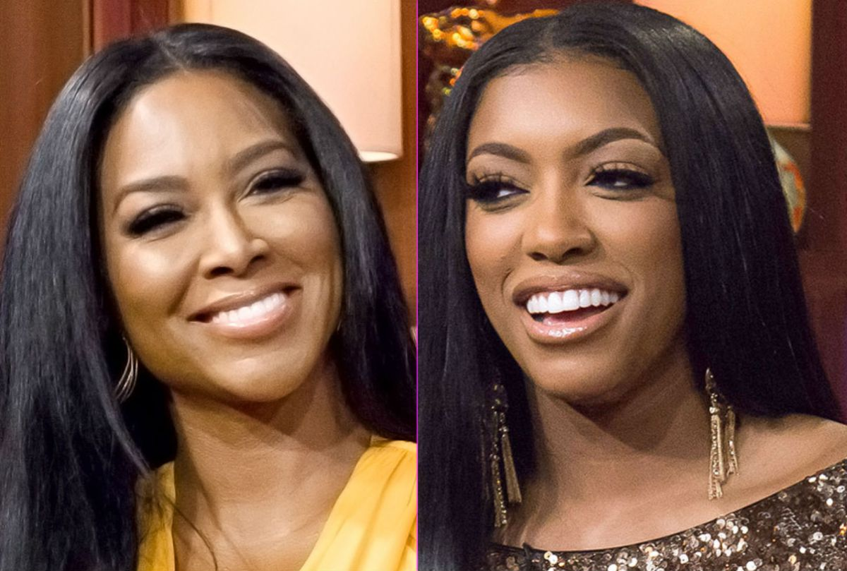 Porsha Williams And Kenya Moore Get Into It About Porsha Using Her Activism As A Storyline — Kenya Claims She Said She Would Beat Up Eva Marcille!