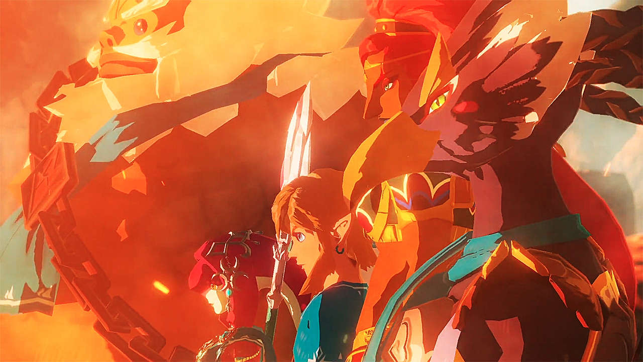 Hyrule Warriors Breath Of The Wild Prequel Announced, Launches November