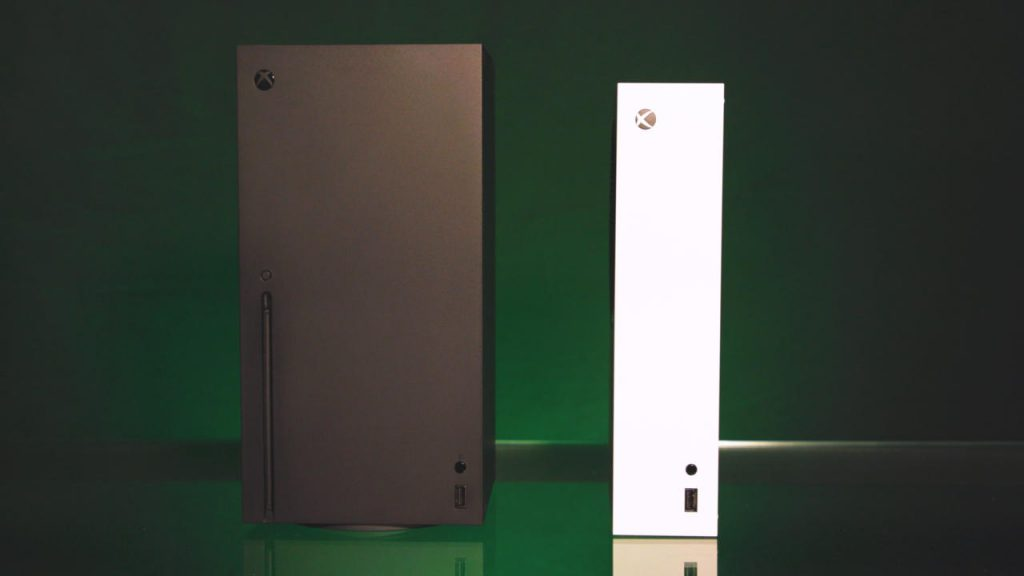 Xbox Series X and Xbox Series S -- so happy toge~ther