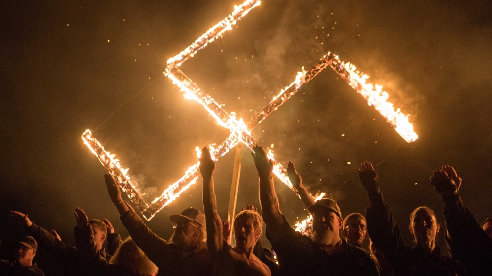 Why is it difficult to recognise Nazism in the US?