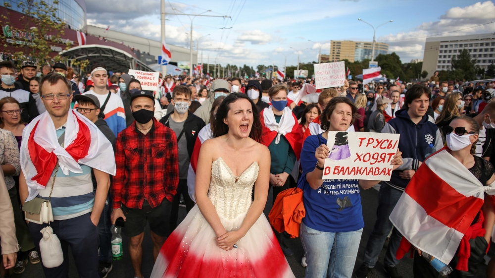 Belarusians will not give up despite the repression