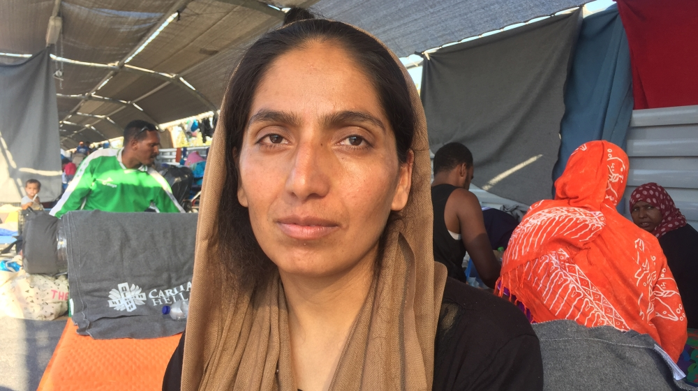 After Moria fire, 'I don't have hope for myself or my baby'