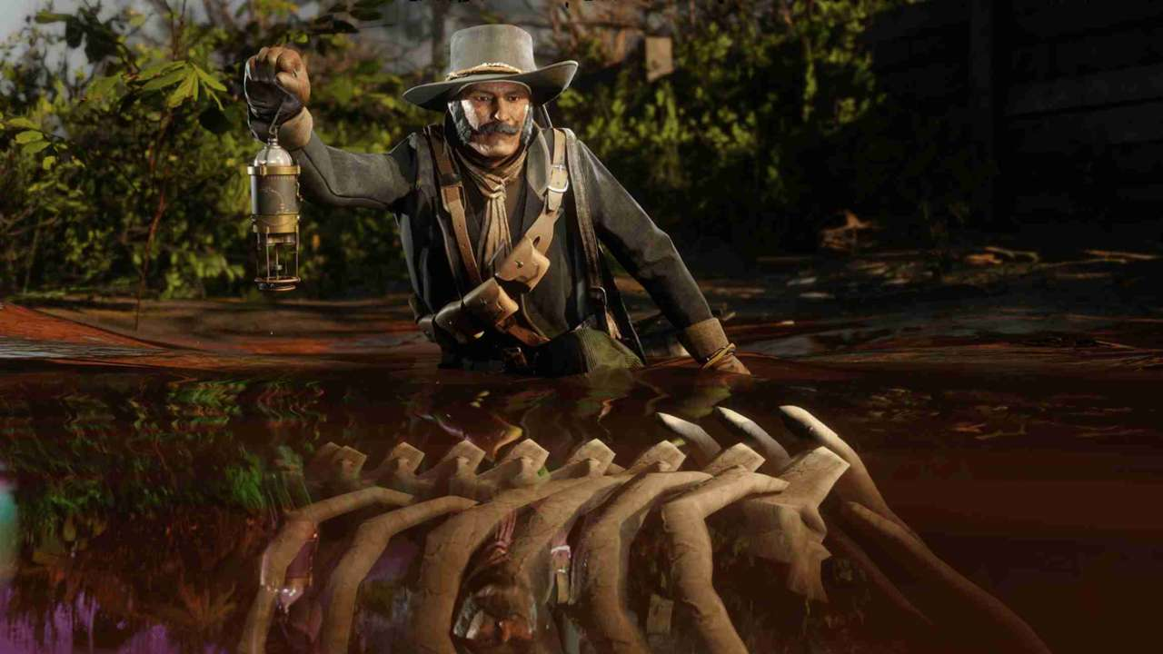 This Week's Red Dead Online Update: New Legendary Rams